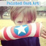 Painted Cast Art