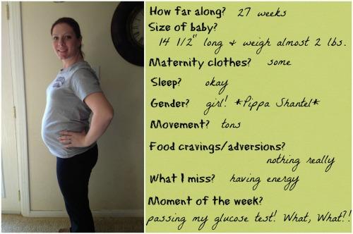 baby bump, pregnancy, 27 weeks