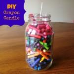 DIY Crayon Candle
