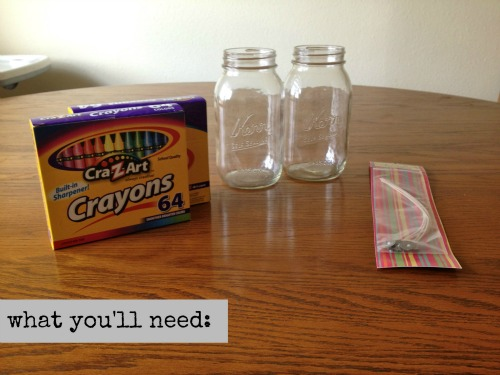 DIY crayon candle 2
