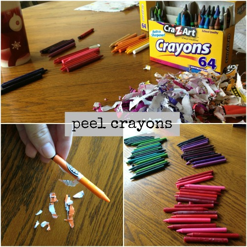 DIY crayon candle 3