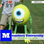 Monsters University Themed Pinata! #MUJuice