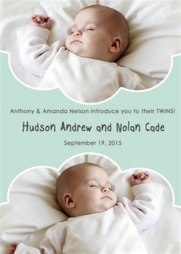 birth announcement 9