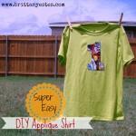 Super Easy DIY Applique Shirt