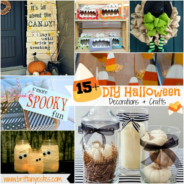 15+ Halloween Decorations and crafts