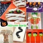 15 Tasty Halloween Snacks
