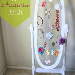 DIY Accessories Display