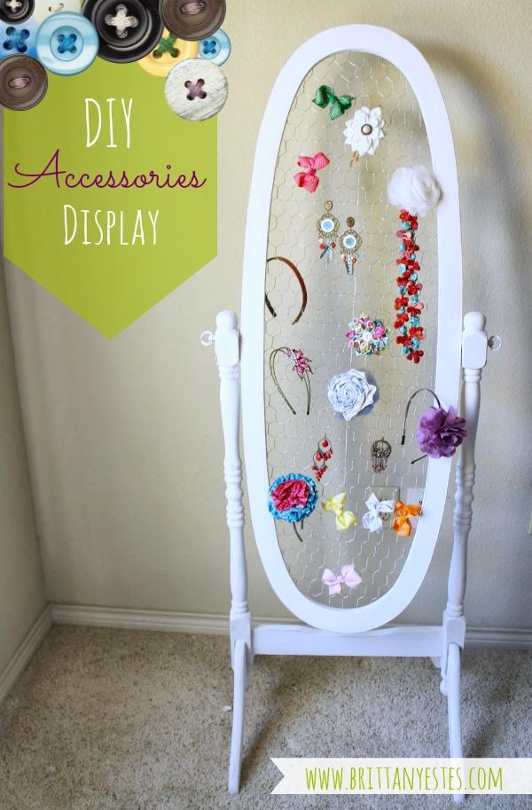 DIY Accessories Display