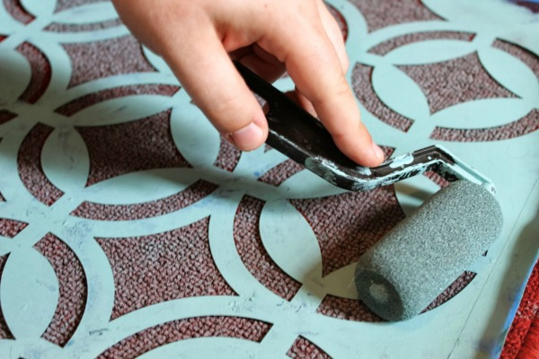 Diy Painted Rug Brittany Estes