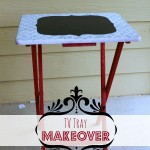 TV Tray Table Makeover Tutorial