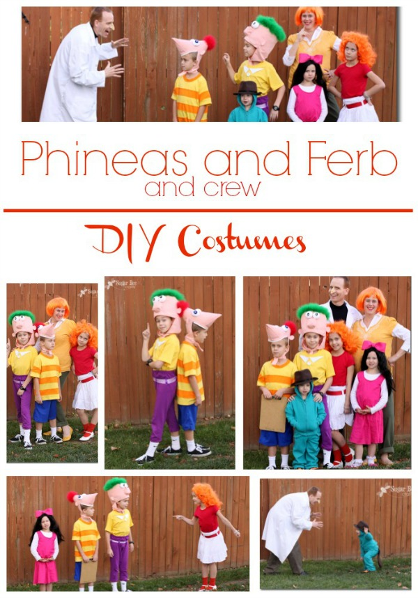 phineas and ferb diy family costumes-1