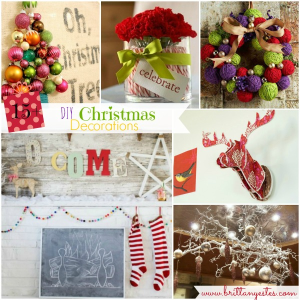 15 DIY Christmas Decorations