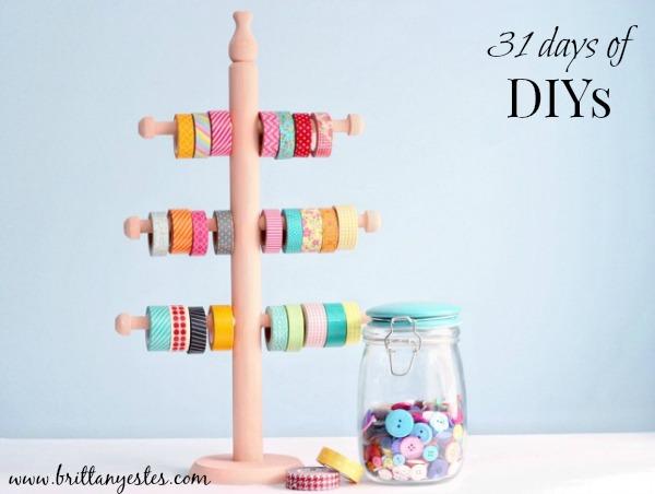 31 days of DIYs