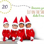 reasons your elf on the shelf didn't move