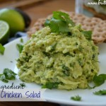 3 Ingredient Avocado Chicken Salad
