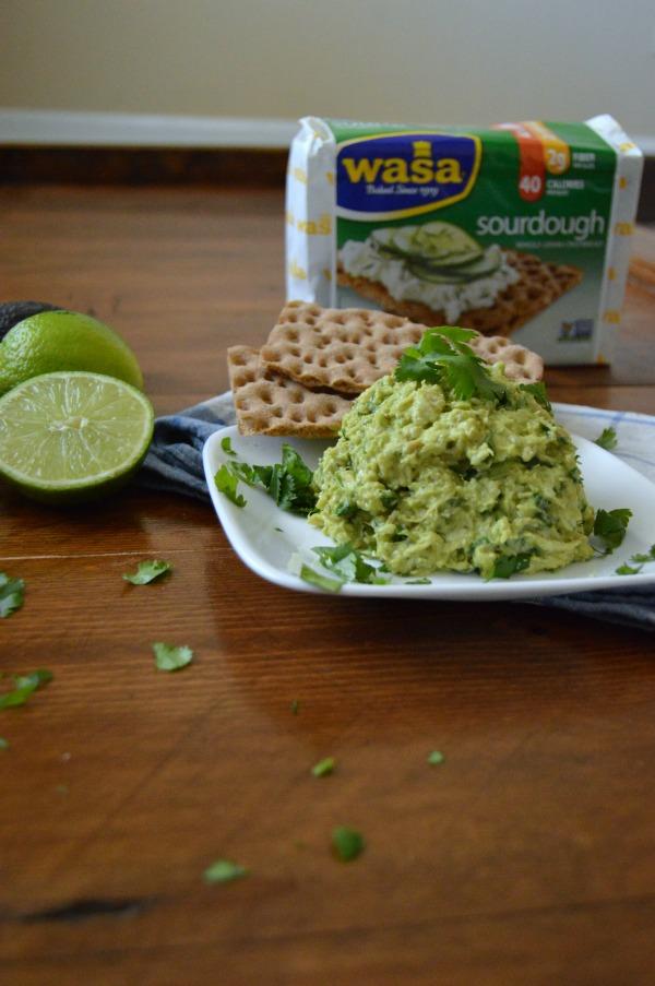 wasa crisp bread and avocado 3