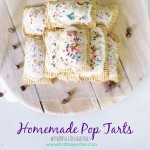 Homemade Pop Tarts with Chocolate Filling