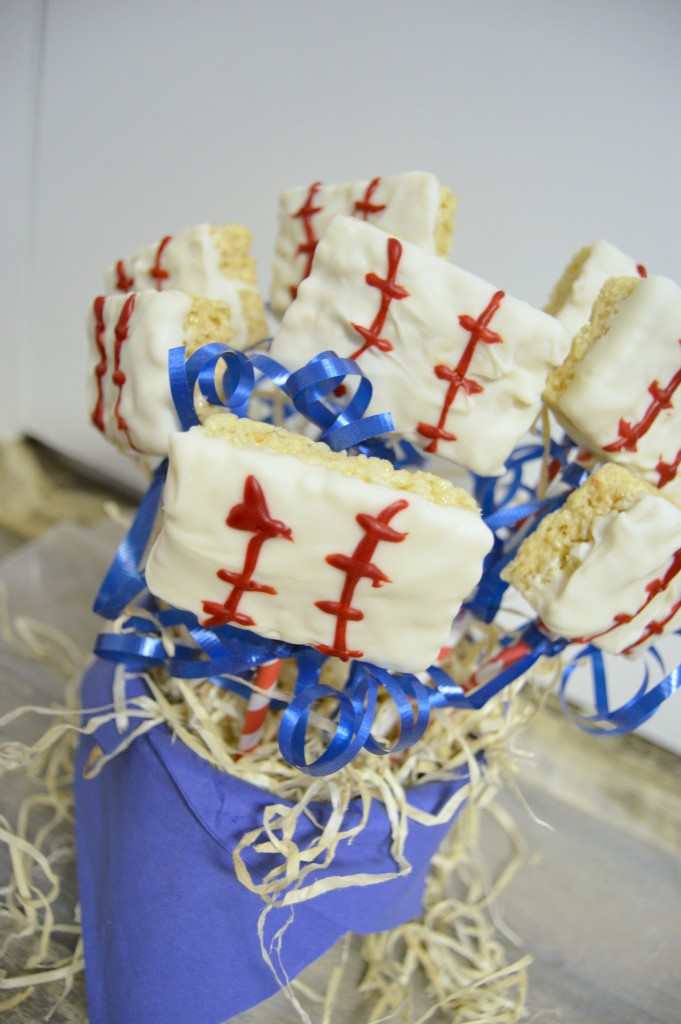 baseball rice krispie